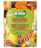 Baby Gourmet Autumn Pumpkin Pear & Beef Stew Baby Food