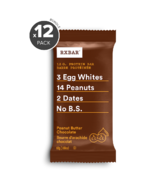 RXBAR Real Food Protein Bar Peanut Butter Chocolate Bundle
