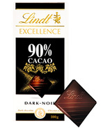 Lindt Excellence 90% Cacao Dark Chocolate Bar
