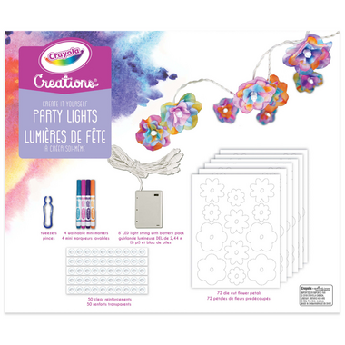 Crayola Creations Create It Yourself Party Lights