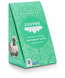 JusTea Black Pyramid Tea Bags Peppermint Detox