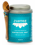 JusTea Loose Leaf Black Tea Kenyan Earl Grey