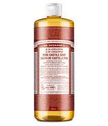 Dr. Bronner's Organic Pure Castile Liquid Soap Eucalyptus