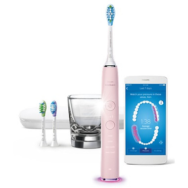 Philips Sonicare DiamondClean Connected Handle Pink