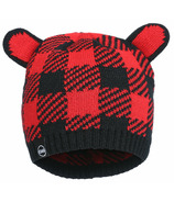 Kombi The Cutie Hat Children Red Buffalo Plaid
