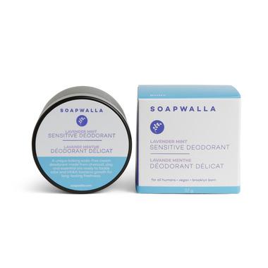 Soapwalla Sensitive Skin Deodorant Cream Lavender Mint