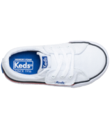 Keds Little Kids Kickstart Core Jr. Sneaker White