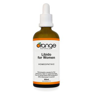 Orange Naturals Homeopathic Libido for Women Drops
