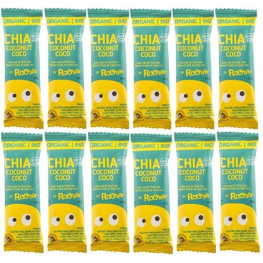 Roobar Chia Coconut Coco Bars Bulk Pack