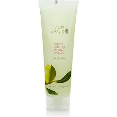 100% Pure Organic Argan Oil Creamy Cleanser