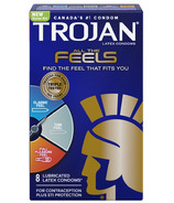 Trojan All The Feels Lubricated Latex Condoms