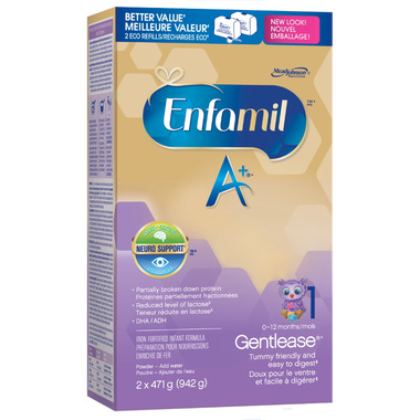 Enfamil A+ Gentlease 0-12 Months Refill Box