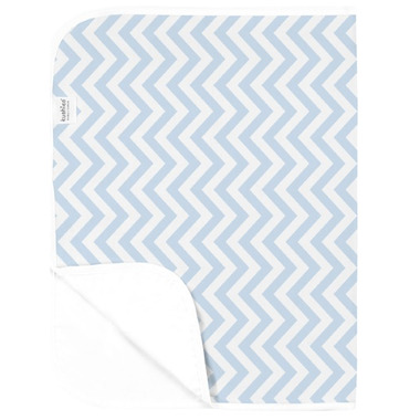 Kushies Deluxe Waterproof Change Pad Chevron Blue