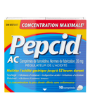 Pepcid AC Maximum Strength Tablets Acid Reducer for Heartburn 10Ct