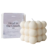 MELP Milk Cloud Candle Warm Vanilla, Sandalwood + Musk