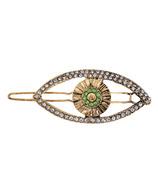 Kristin Ess Hair Evil Eye Clip Antique Gold