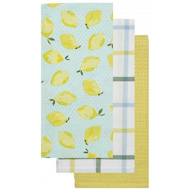 Harman Lemon Kitchen Tea Towels