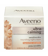 Aveeno Active Naturals Ultra Calming Sensitive Skin Nourishing Night Cream