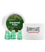 Happy Wax Eco Tin Evergreen Trees Soy Wax Melts
