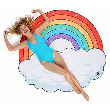 BigMouth Inc. Rainbow Beach Blanket