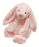 Jellycat Bashful Bunny Light Pink with Chime