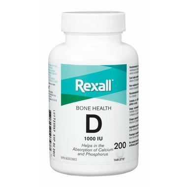 Rexall Vitamin D Tablets