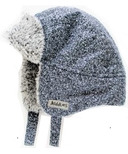 Juddlies Winter Hats Salt & Pepper Black