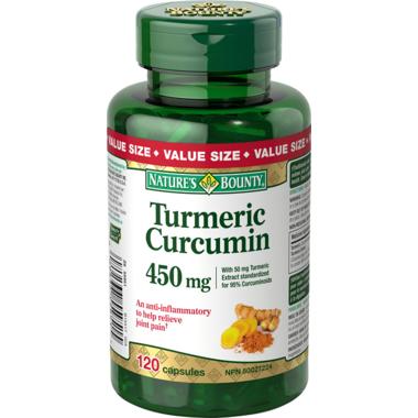 Nature\'s Bounty Turmeric Curcumin Value Pack