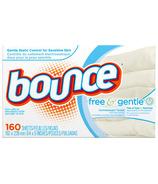 Bounce Free & Gentle Dryer Sheets