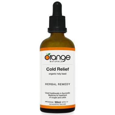 Orange Naturals Cold Relief Tincture