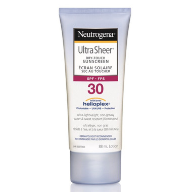 Neutrogena Ultra Sheer Dry-Touch Sunscreen Lotion SPF 30