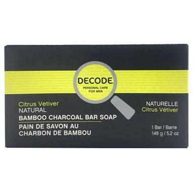 DECODE Citrus Vetiver Cleansing Bar