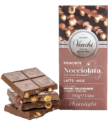 Venchi Chocolight Milk Chocolate Hazelnut Bar