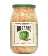 Choucroute et carottes bio de Eat Wholesome