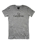 Province of Canada La Canadienne Womens Heather Grey Tee