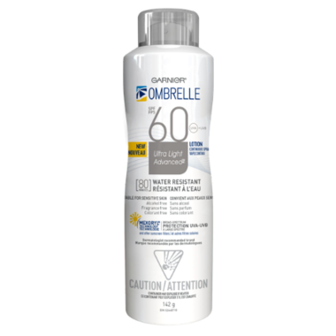 Ombrelle Ultra Light Advanced Sunscreen Spray SPF 60