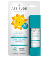 ATTITUDE Little Ones 100% Mineral Face Stick SPF 30 Fragrance Free