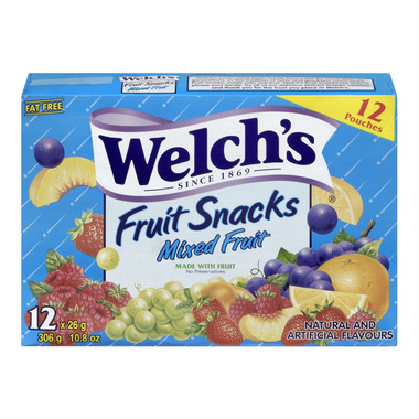 Welch\'s Mixed Fruit Snacks