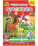 School Zone Preschool Sticker Book