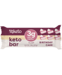 Kiss My Keto Keto Protein Bar Birthday Cake