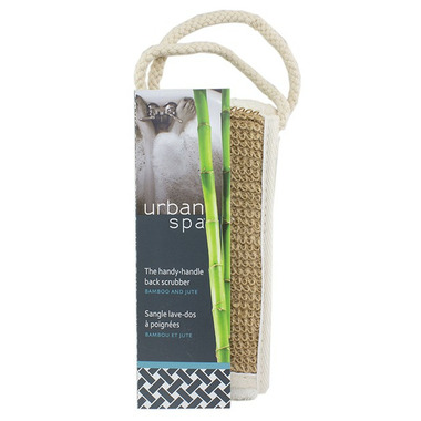 Urban Spa Bamboo & Jute Back Scrubber