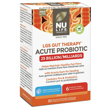 Nu Life Therapeutics LGS Gut Therapy Acute Probiotic