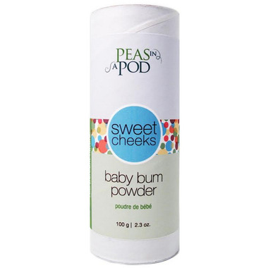 Peas In A Pod Sweet Cheeks Baby Bum Powder