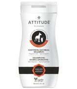 ATTITUDE Furry Friends Soothing Oatmeal Pet Shampoo Fragrance Free