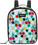 PackIt Freezable Upright Lunch Backpack Cherry Dots