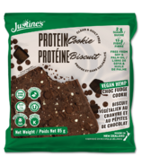 Justine's Clean Protein Cookie Vegan Hemp Chocolate Fudge
