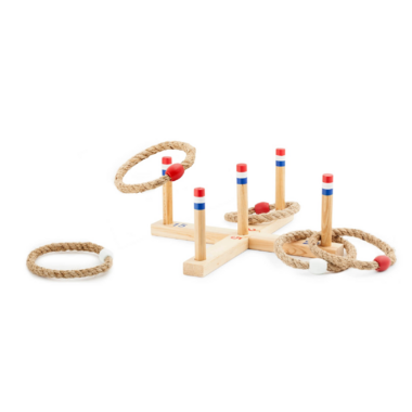 Kikkerland Ring Toss Game