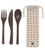 Now Designs On The Go Cutlery Set Ebony