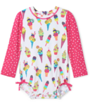 Hatley Cool Treats Baby Rashguard Swimsuit