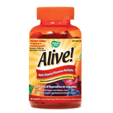 Nature\'s Way Alive! Adult Multivitamin Gummies